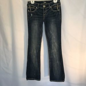 Almost famous size 5 jean
